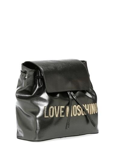 Love Moschino Sırt Çantası Antrasit